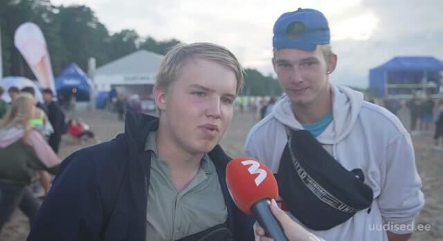 Võsu Rannafestivali pidune rahvas: Eesti presidendiks saab Andrei Zevakin!